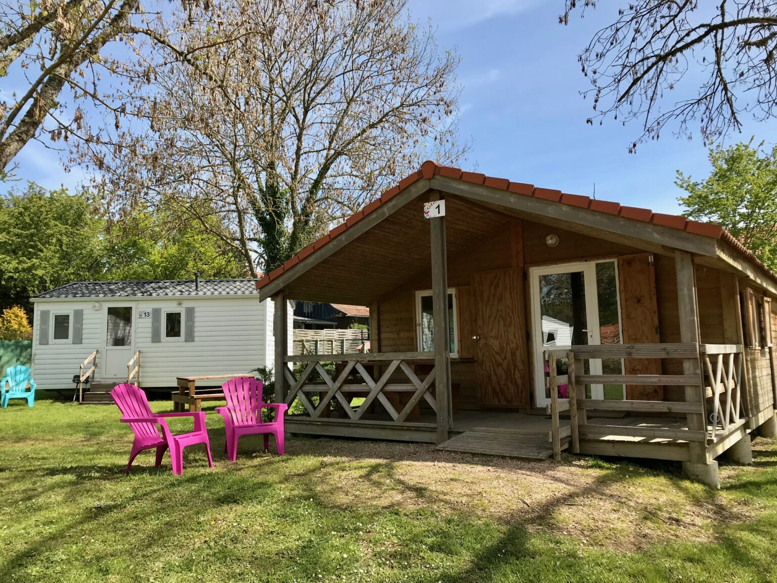 Chalet-Location Camping-des-Papillons