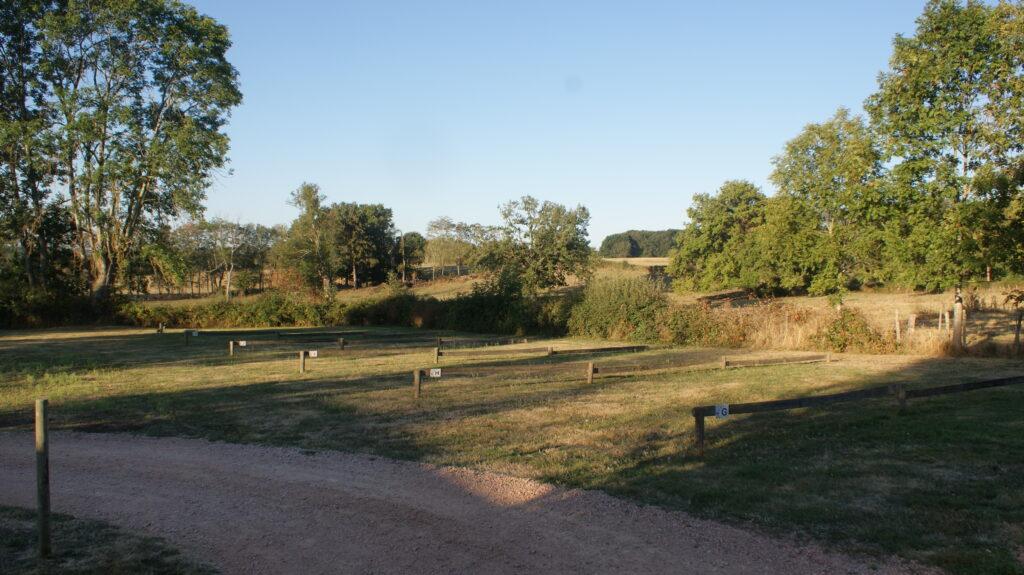 Les emplacements de Camping Camping des Papillons