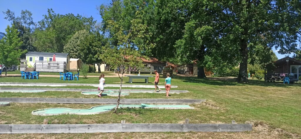 Mini-Golf Camping-des-Papillons
