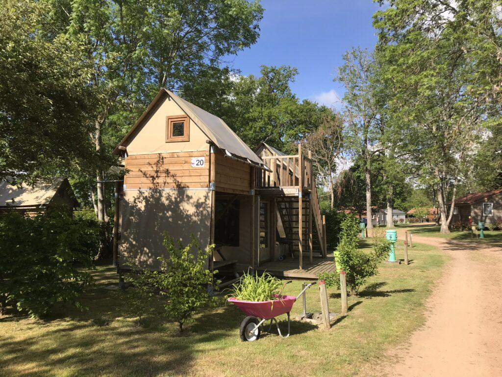 Cabane Perchée 6 pers Camping-des-Papillons