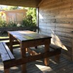 Table-Pique-Nique Camping-des-Papillons