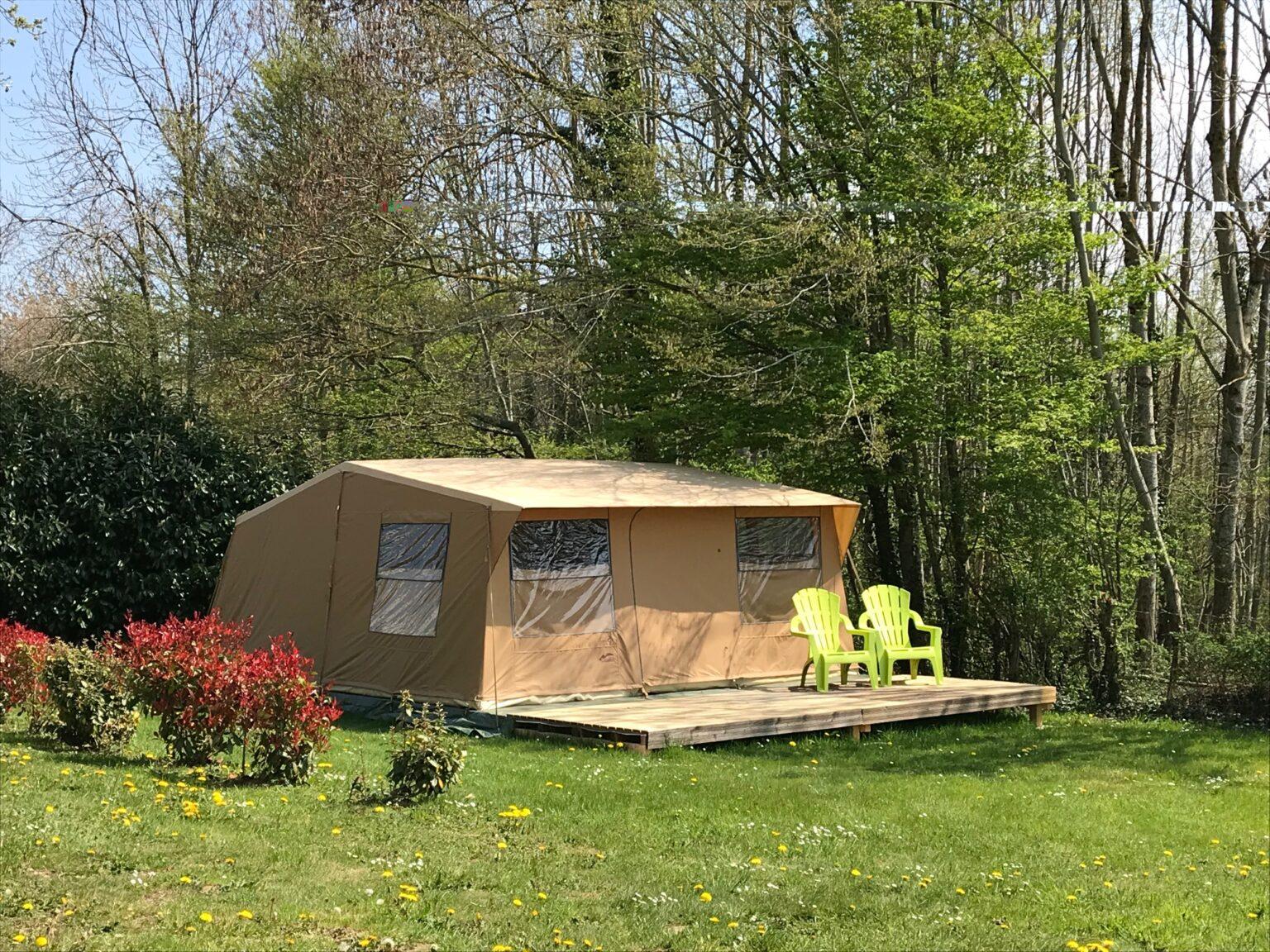 Bungalows Toilés - Camping-des-Papillons